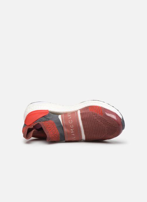 Sneaker adidas by Stella McCartney Ultraboost X 3.D. S. rot ansicht von links