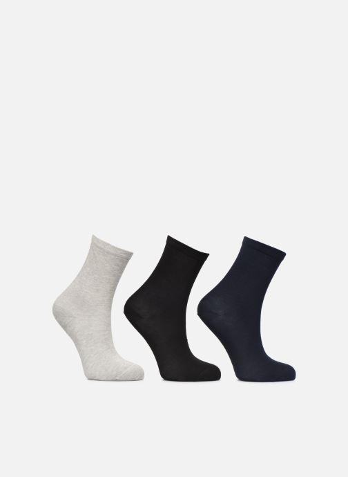 Chaussettes et collants Sarenza Wear Chaussettes Enfant Pack de 3 Hautes Unies Noir vue détail/paire