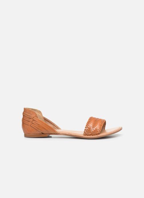 Sandales et nu-pieds I Love Shoes KERINETTE LEATHER Marron vue derrière