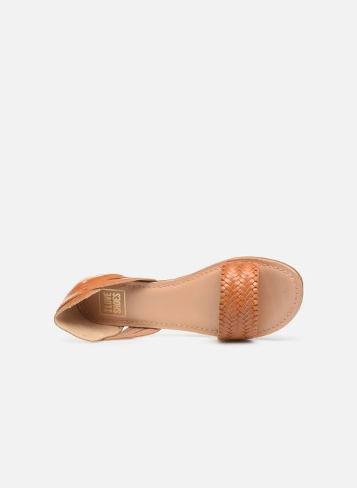 Sandali e scarpe aperte I Love Shoes KERINETTE LEATHER Marrone immagine sinistra
