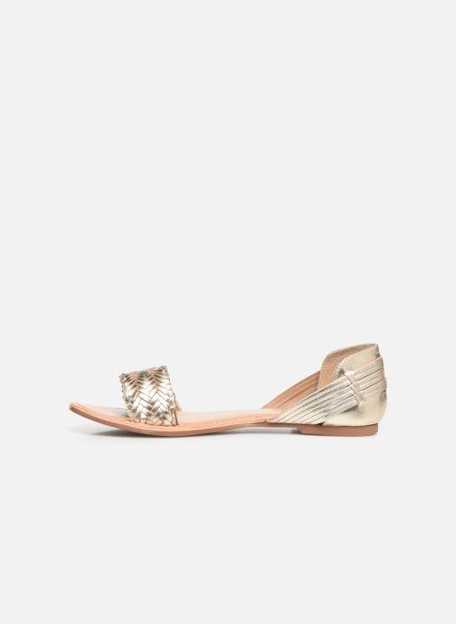 Sandali e scarpe aperte I Love Shoes KERINETTE LEATHER Oro e bronzo immagine frontale