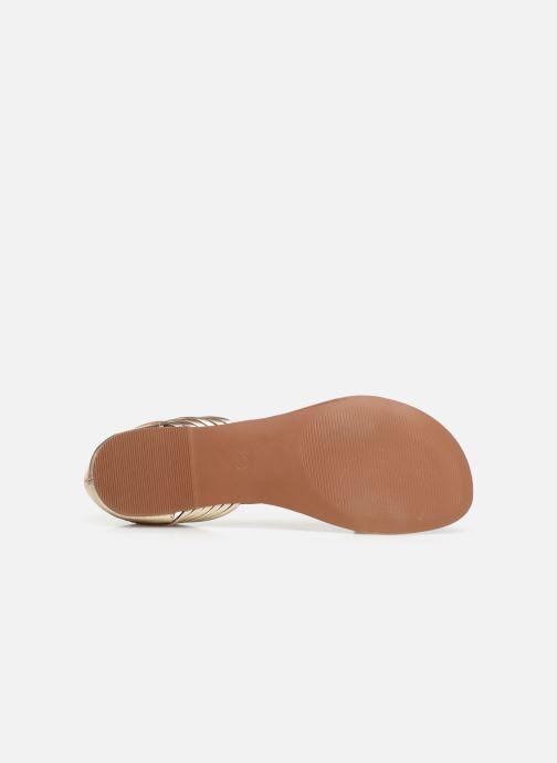 Sandali e scarpe aperte I Love Shoes KERINETTE LEATHER Oro e bronzo immagine dall'alto