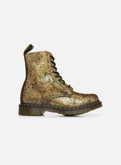 Bottines et boots Dr. Martens 1460 Iridescent Or et bronze vue derrière