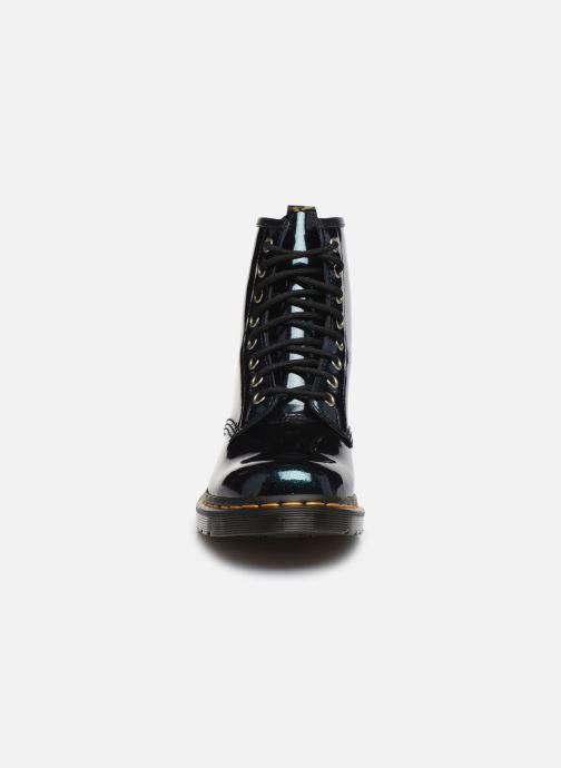 Bottines et boots Dr. Martens 1460 Sparkle Vert vue portées chaussures