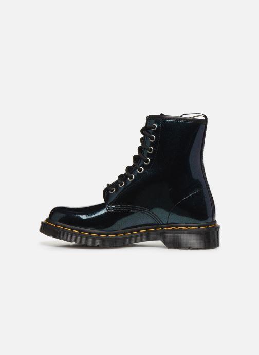 Bottines et boots Dr. Martens 1460 Sparkle Vert vue face