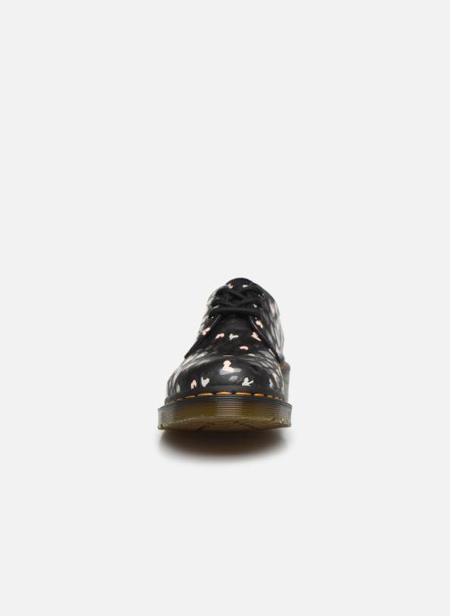 Chaussures à lacets Dr. Martens 1461 Hearts Bleu vue portées chaussures