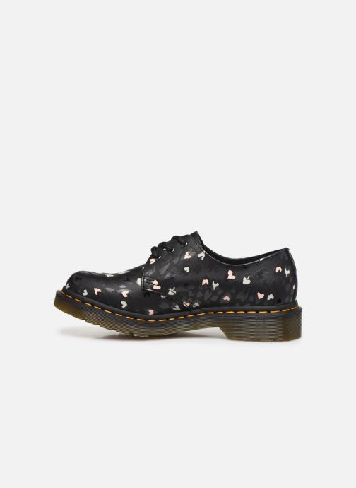 Chaussures à lacets Dr. Martens 1461 Hearts Bleu vue face