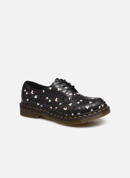 Chaussures à lacets Dr. Martens 1461 Hearts Bleu vue détail/paire