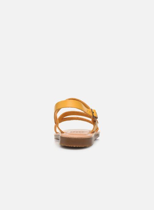 Sandali e scarpe aperte TBS BEATTYS Giallo immagine destra