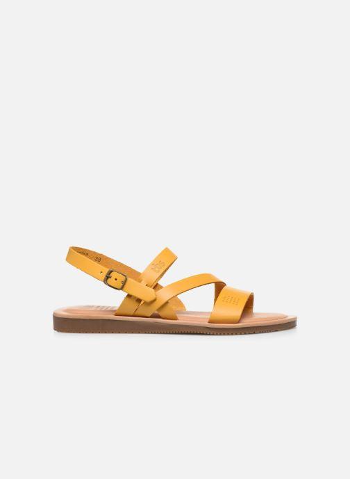 Sandalen TBS BEATTYS gelb ansicht von hinten