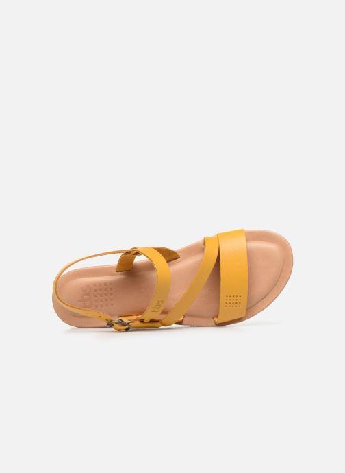Sandalen TBS BEATTYS gelb ansicht von links