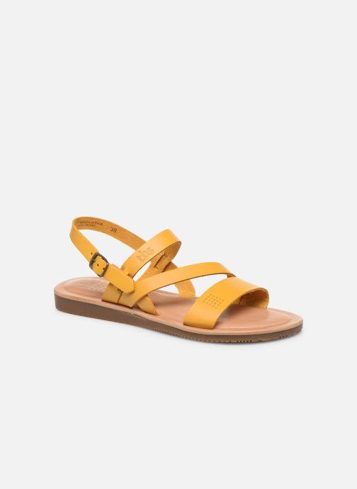 Sandales et nu-pieds TBS BEATTYS Jaune vue détail/paire