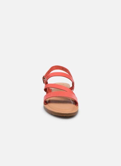 Sandalen TBS BEATTYS rosa schuhe getragen
