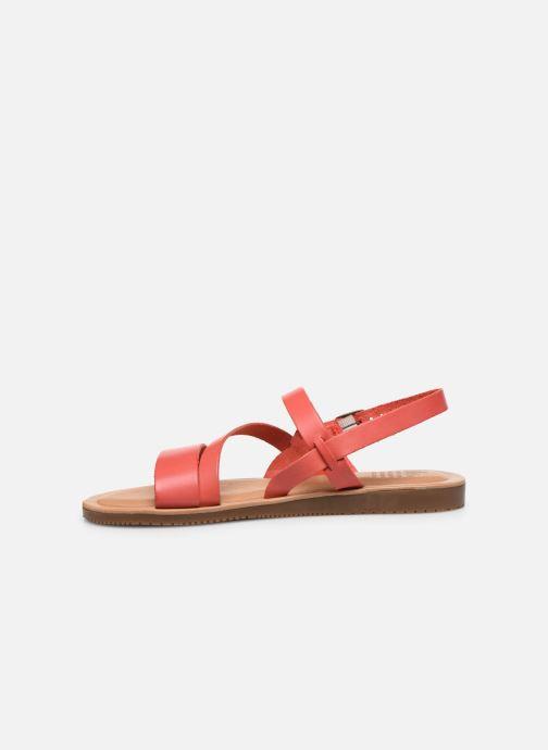 Sandalen TBS BEATTYS rosa ansicht von vorne