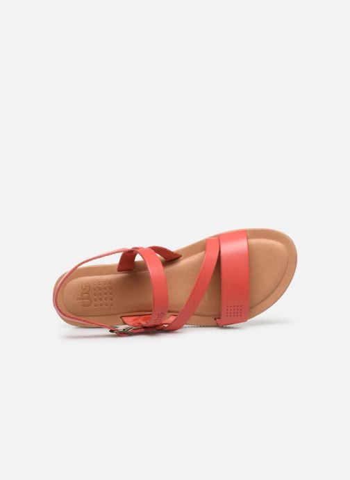 Sandali e scarpe aperte TBS BEATTYS Rosa immagine sinistra