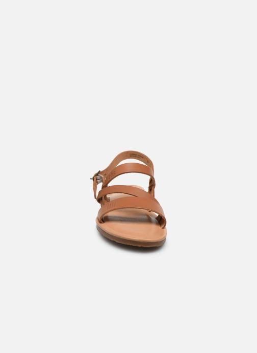 Sandales et nu-pieds TBS BEATTYS Marron vue portées chaussures