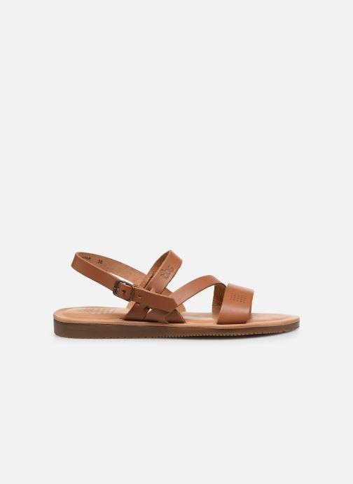 Sandales et nu-pieds TBS BEATTYS Marron vue derrière