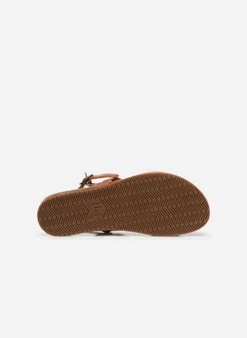 Sandales et nu-pieds TBS BEATTYS Marron vue haut