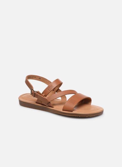 Sandales et nu-pieds TBS BEATTYS Marron vue détail/paire
