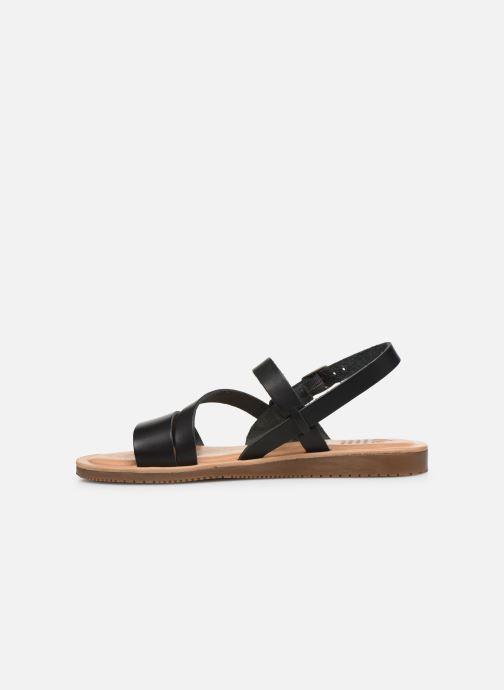 Sandales et nu-pieds TBS BEATTYS Noir vue face