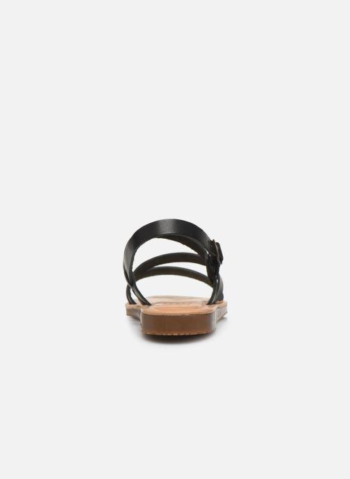 Sandales et nu-pieds TBS BEATTYS Noir vue droite