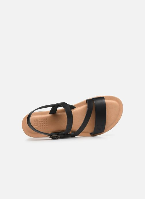 Sandales et nu-pieds TBS BEATTYS Noir vue gauche