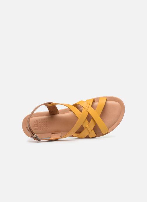 Sandali e scarpe aperte TBS BELLUCI Giallo immagine sinistra