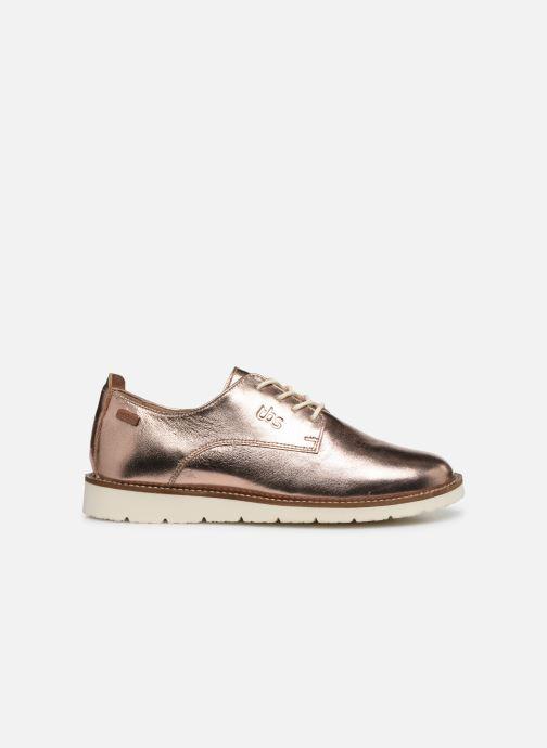 Sneakers TBS CELENZA Oro e bronzo immagine posteriore