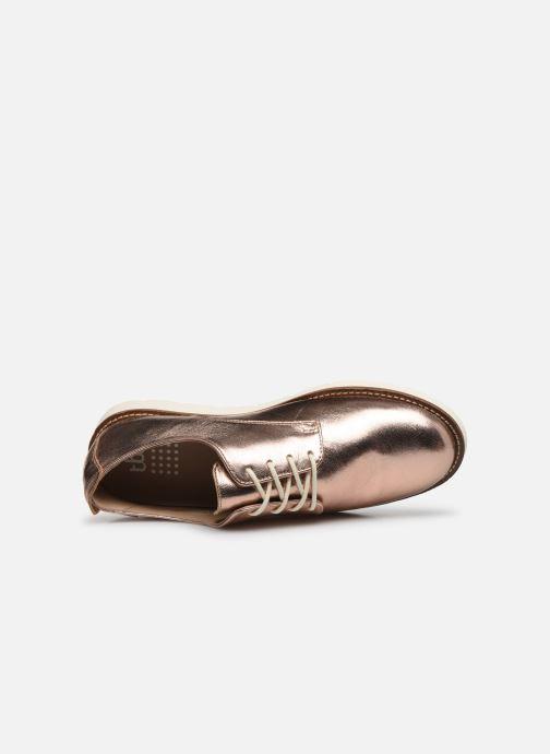 Sneakers TBS CELENZA Oro e bronzo immagine sinistra