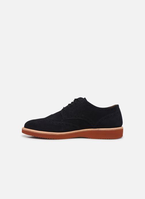Zapatos con cordones TBS KENWICK Negro vista de frente
