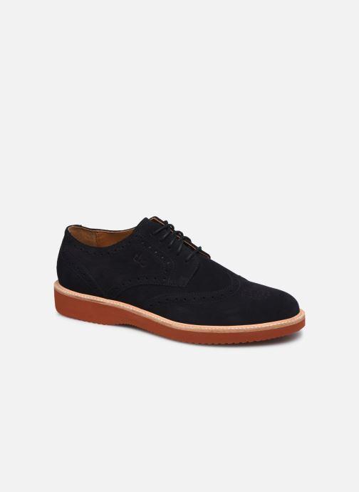 Zapatos con cordones TBS KENWICK Negro vista de detalle / par