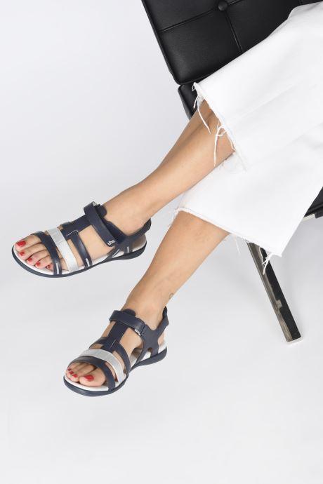 Sandali e scarpe aperte TBS RISSANI Azzurro immagine dal basso