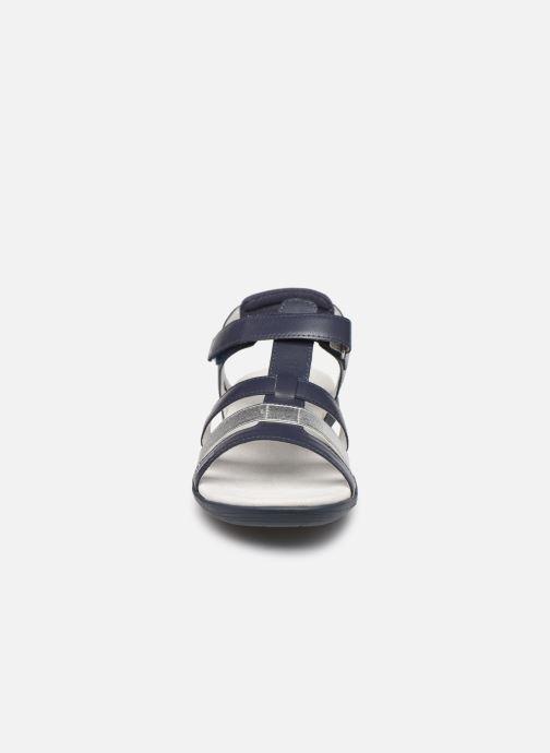 Sandali e scarpe aperte TBS RISSANI Azzurro modello indossato