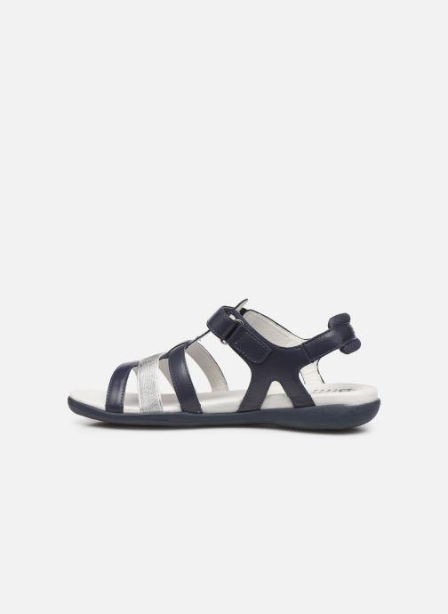 Sandali e scarpe aperte TBS RISSANI Azzurro immagine frontale