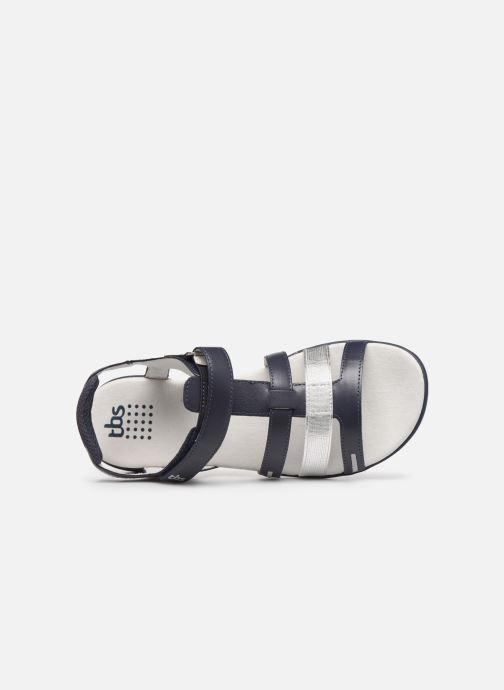Sandali e scarpe aperte TBS RISSANI Azzurro immagine sinistra
