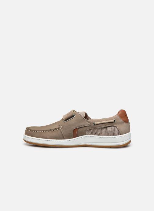 Zapatos con velcro TBS SEATTON Beige vista de frente