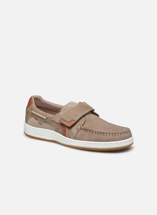 Chaussures à scratch TBS SEATTON Beige vue détail/paire