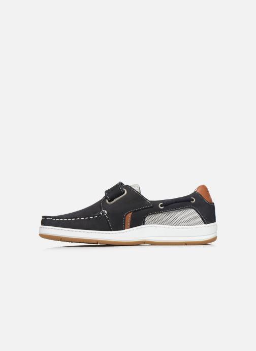 Zapatos con velcro TBS SEATTON Negro vista de frente