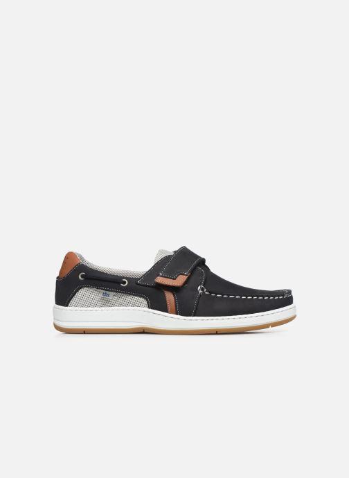 Zapatos con velcro TBS SEATTON Negro vistra trasera