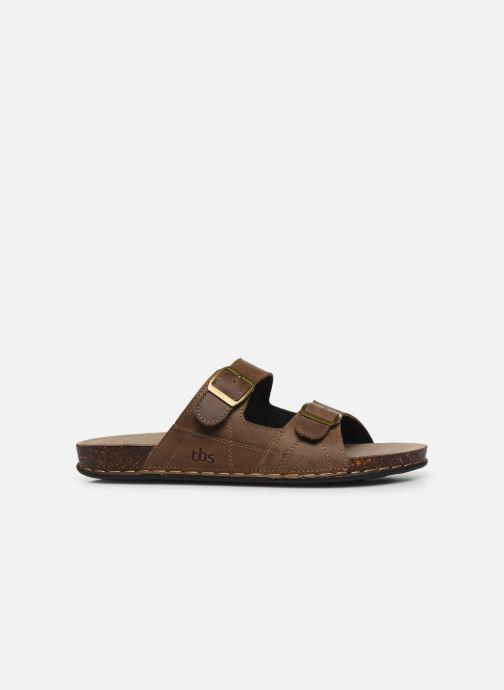Sandales et nu-pieds TBS STEPPES Marron vue derrière