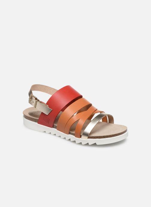 Sandales et nu-pieds TBS TAHINIS Marron vue détail/paire