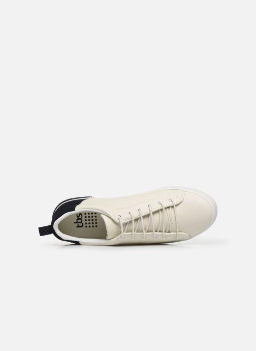 Sneaker TBS TENNILA weiß ansicht von links