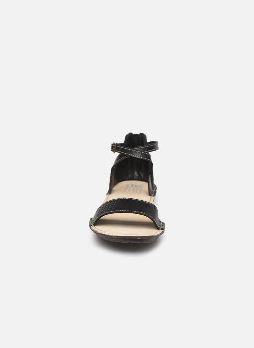 Sandales et nu-pieds TBS ZORELLE Noir vue portées chaussures