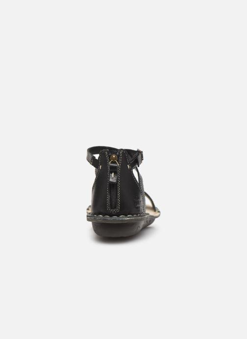 Sandales et nu-pieds TBS ZORELLE Noir vue droite