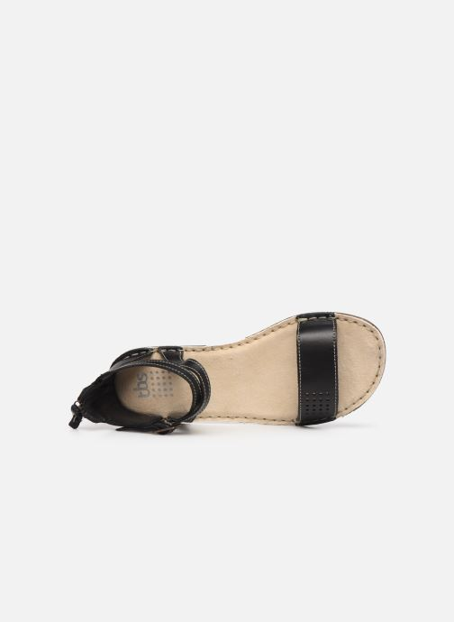 Sandales et nu-pieds TBS ZORELLE Noir vue gauche