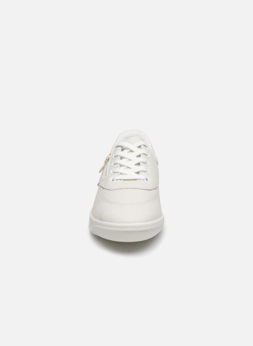 Sneakers TBS Made in France BRANZIP Bianco modello indossato