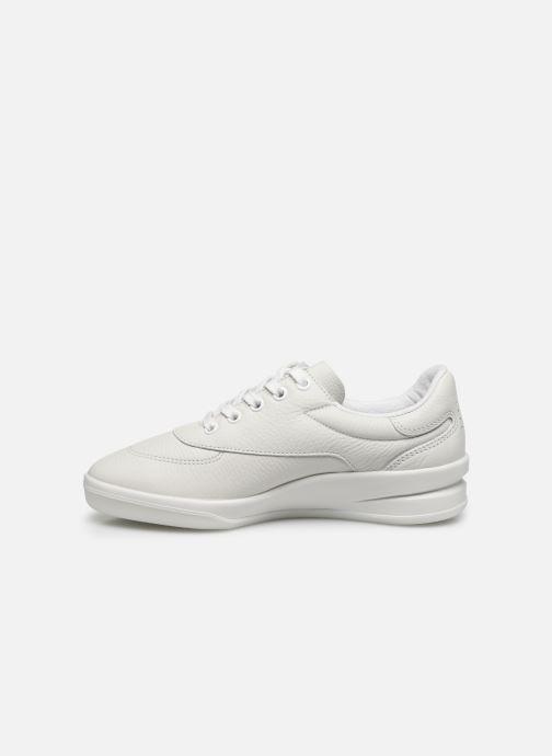Sneaker TBS Made in France BRANZIP weiß ansicht von vorne