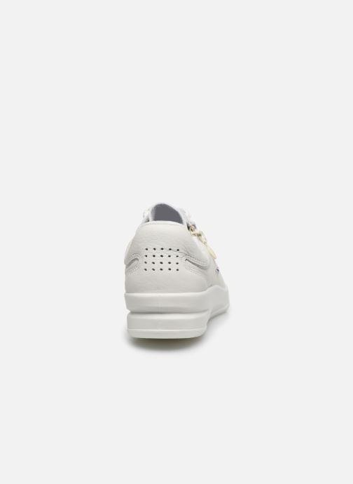 Sneaker TBS Made in France BRANZIP weiß ansicht von rechts