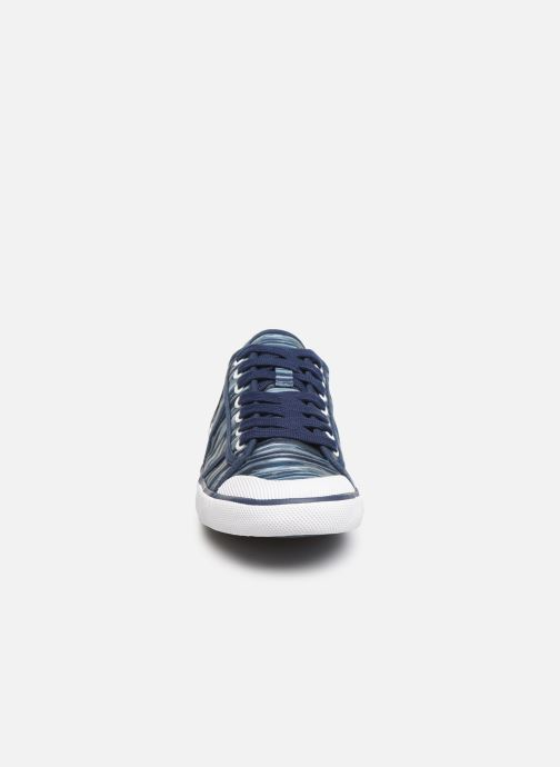 Baskets TBS Violay T Bleu vue portées chaussures