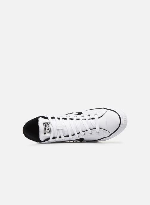 Baskets Converse Star Player Seasonal Color Leather Hi Blanc vue gauche